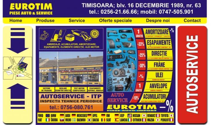 Eurotim Timisoara - piese auto ieftine