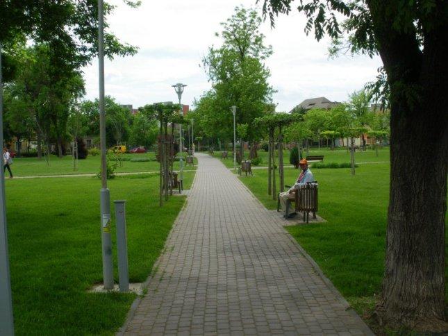 Parcul Bihor din Timisoara