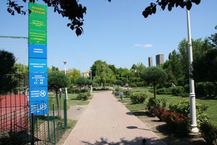 Parcul Scuarul Elevilor din Timisoara