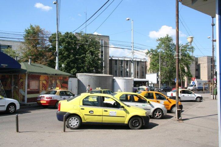 Statie taxi - Gara de Nord