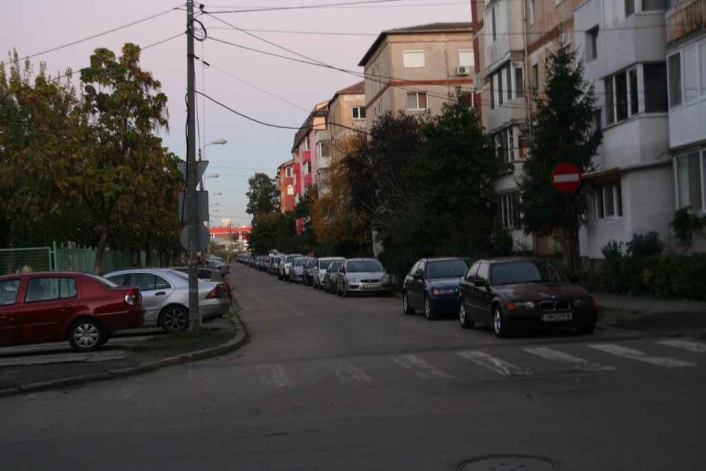 Aleea Martir Eugen Nagy din Timisoara