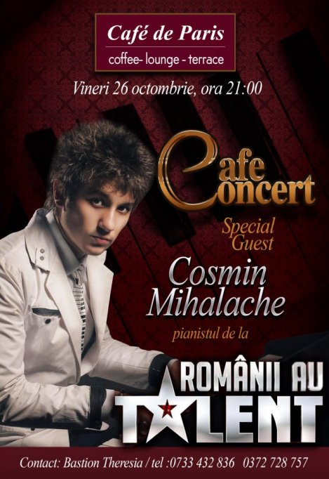 Cafe Concert with Cosmin Mihalache