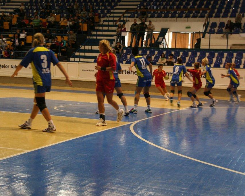 CS Timisoara 24-35 CSM Slatina - 11.10.2012