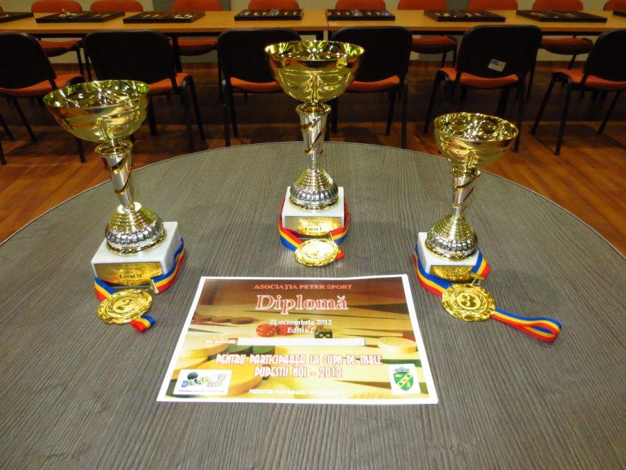 Cupa de Table Dudestii Noi - editia I - 21.10.2012