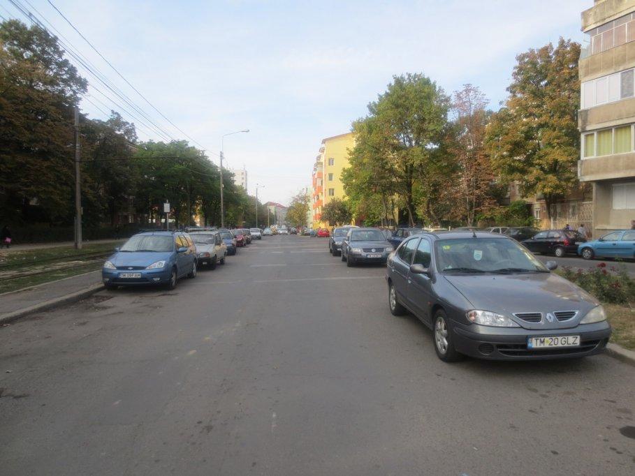 Strada Ana Ipatescu din Timisoara