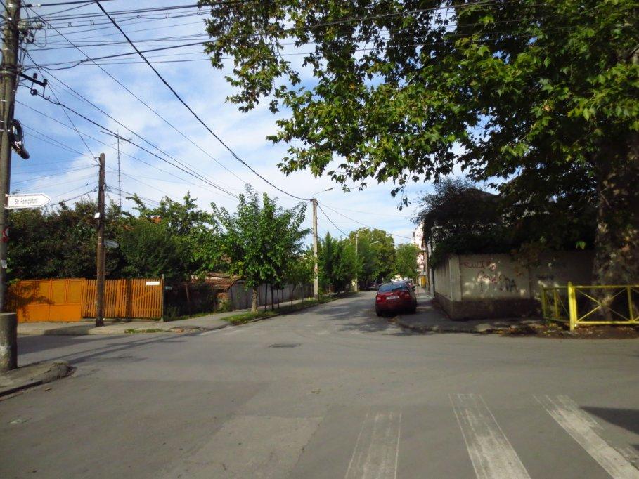 Strada Martir Silviu Motohon din Timisoara