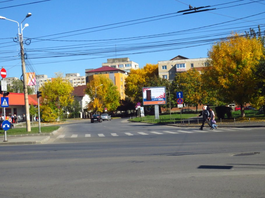 Strada Surorile Martir Caceu din Timisoara