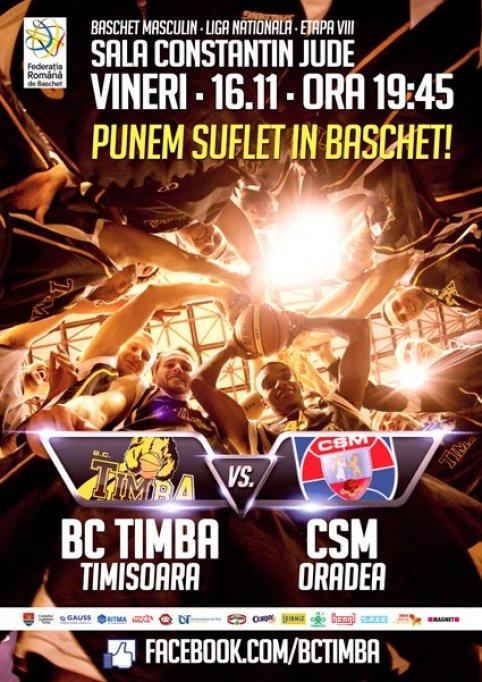 BC Timba Timisoara - CSM Oradea