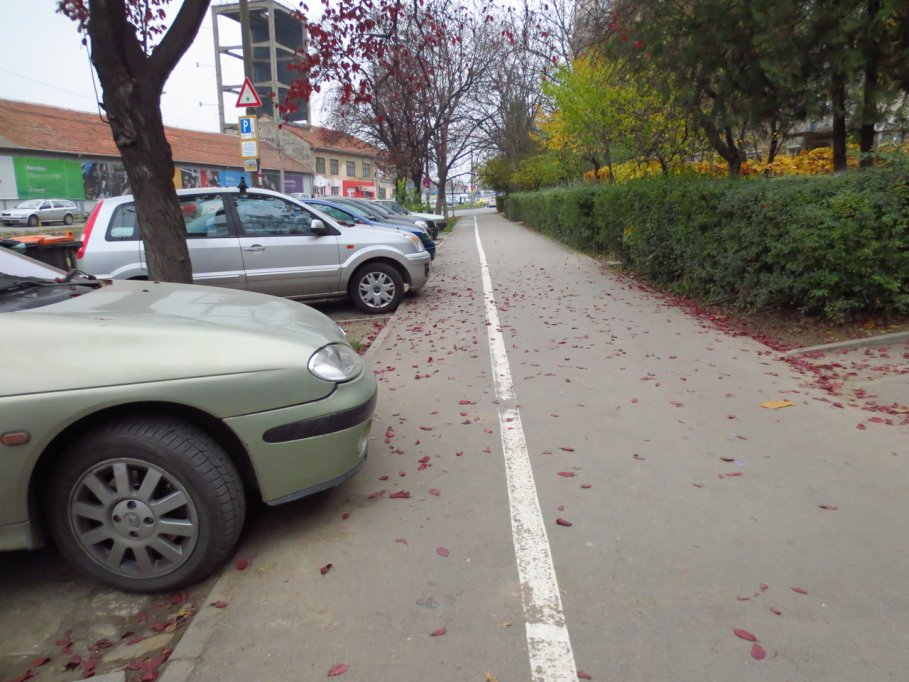 Pista bicicleta - Bulevardul Cetatii