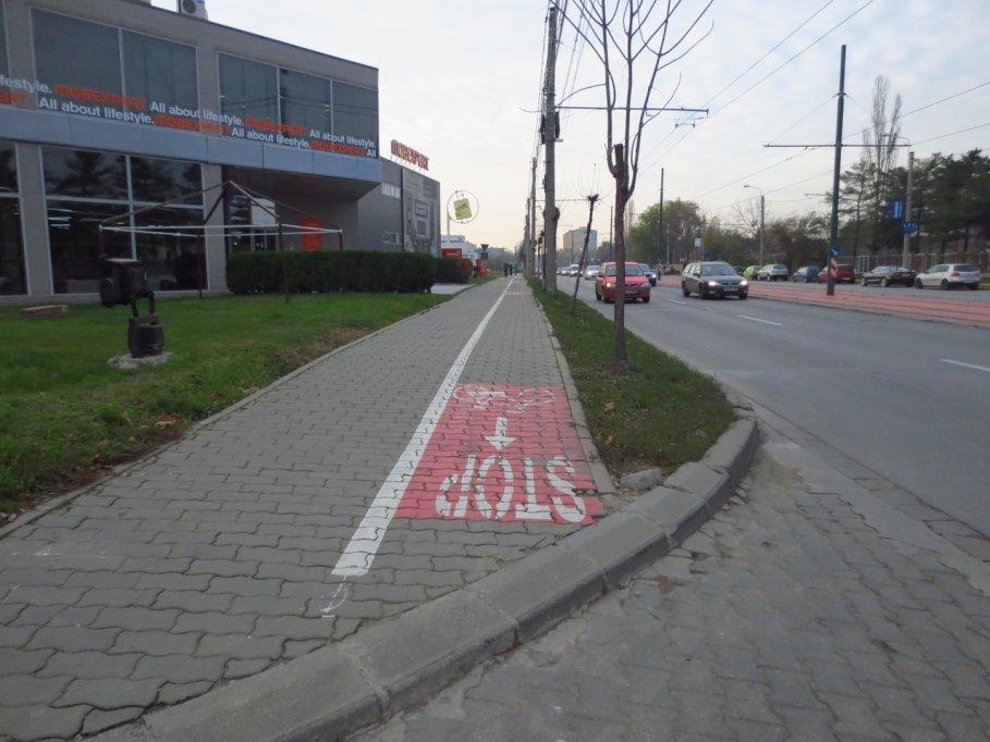 Pista bicicleta - Bulevardul Doctor Iosif Bulbuca
