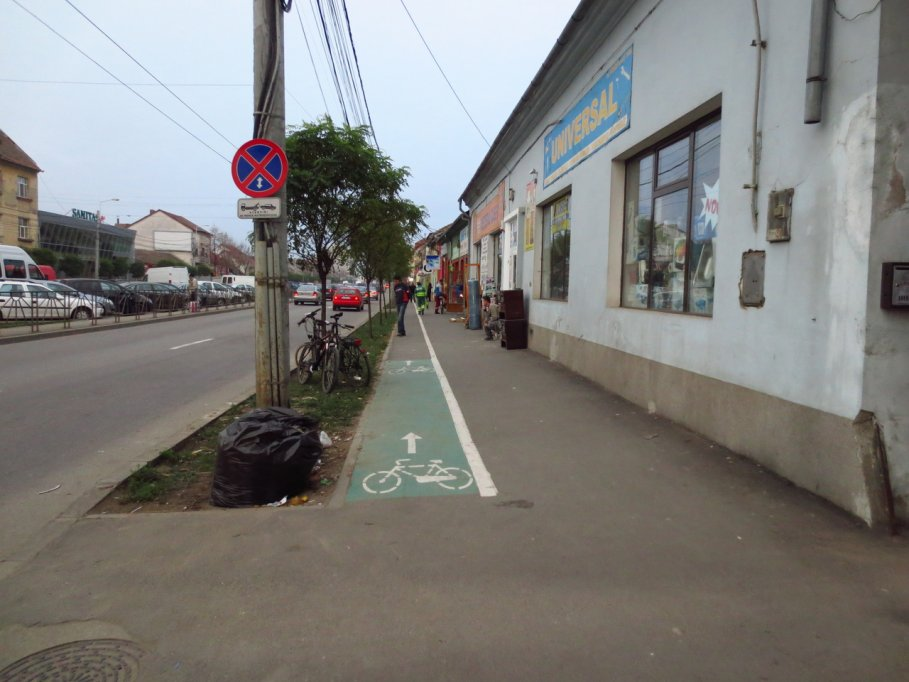 Pista bicicleta - Bulevardul Iuliu Maniu
