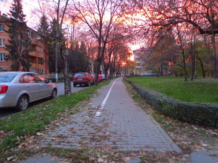 Pista bicicleta - Bulevardul Mihai Eminescu