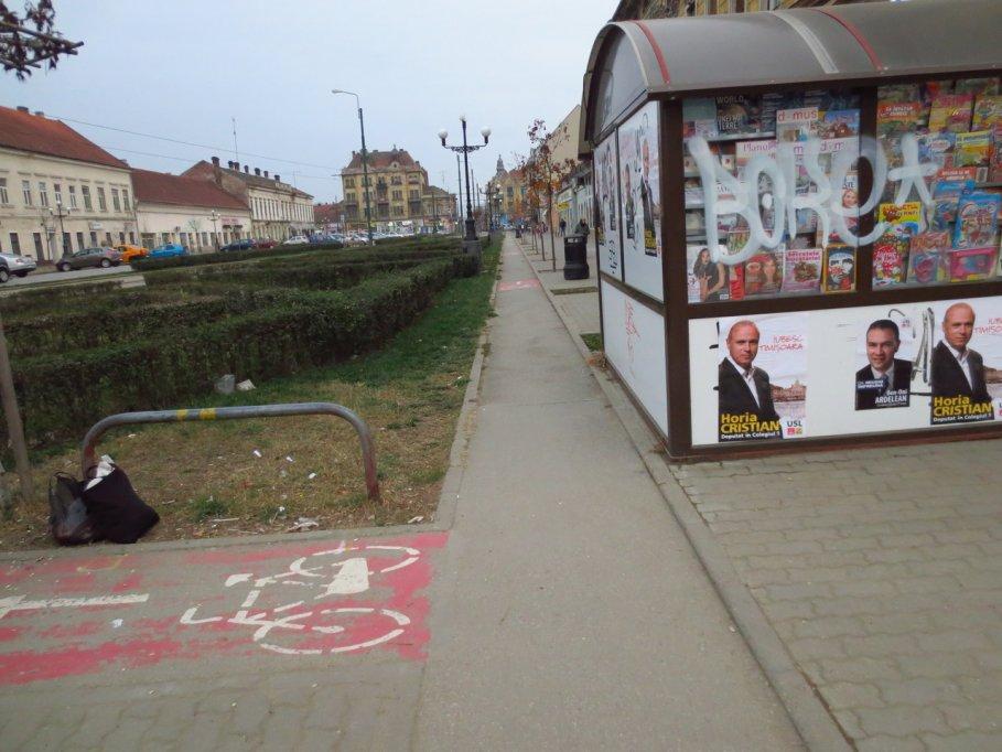 Pista bicicleta - Bulevardul Regele Carol