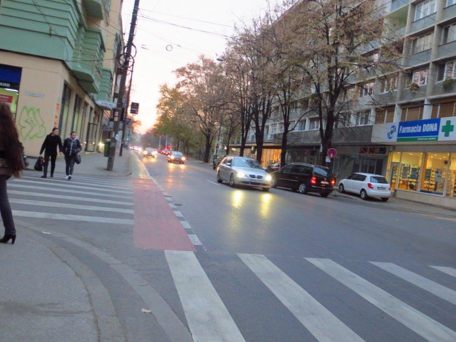 Pista bicicleta - Bulevardul Republicii
