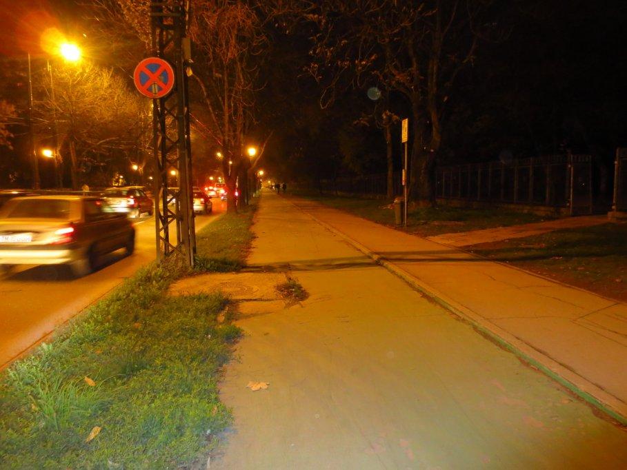 Pista bicicleta - Calea Alexandru Ioan Cuza