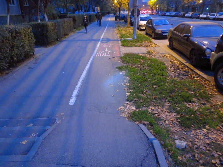 Pista bicicleta - Calea Circumvalatiunii