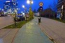 Pista bicicleta - Piata Consiliul Europei