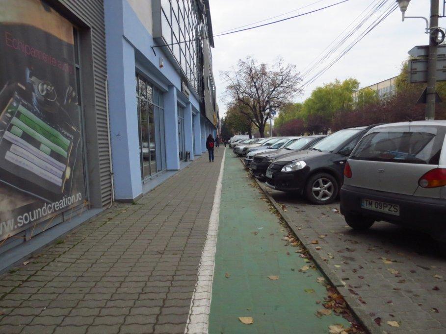 Pista bicicleta - Strada J. H. Pestalozzi