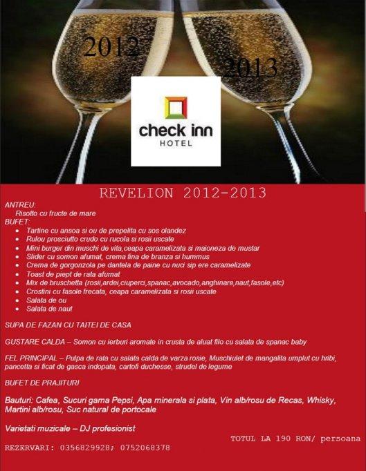 Oferta Revelion 2013 in Timisoara by Restaurant Check Inn
