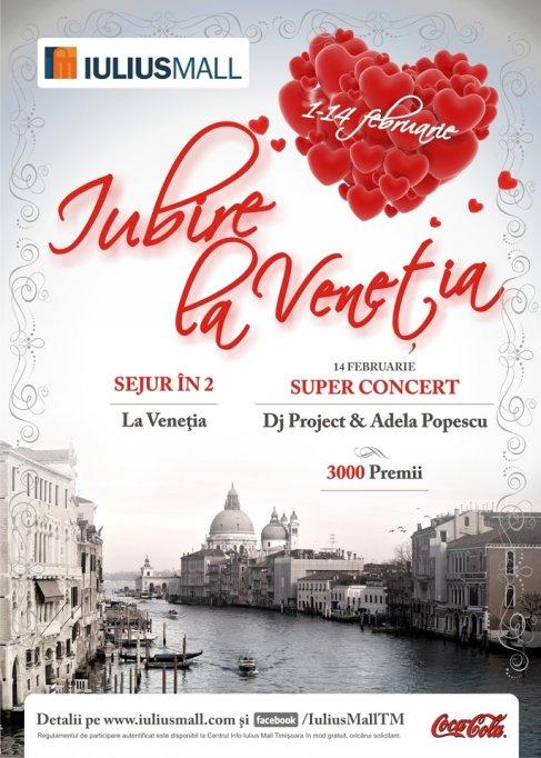 Iulius Mall Timisoara rasplateste dragostea cu un sejur in Venetia