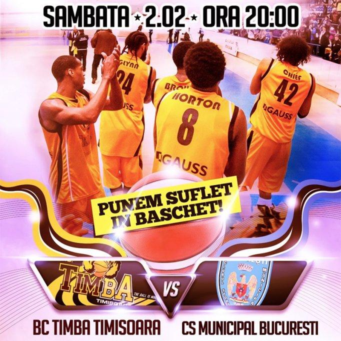 BC Timba Timisoara - CSM Bucuresti
