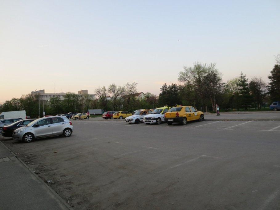 Parcare auto - Casa Tineretului