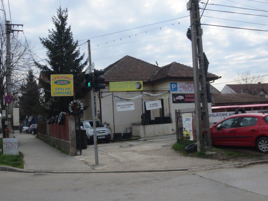 Spalatorie auto - Bulevardul Liviu Rebreanu colt cu str. Hebe