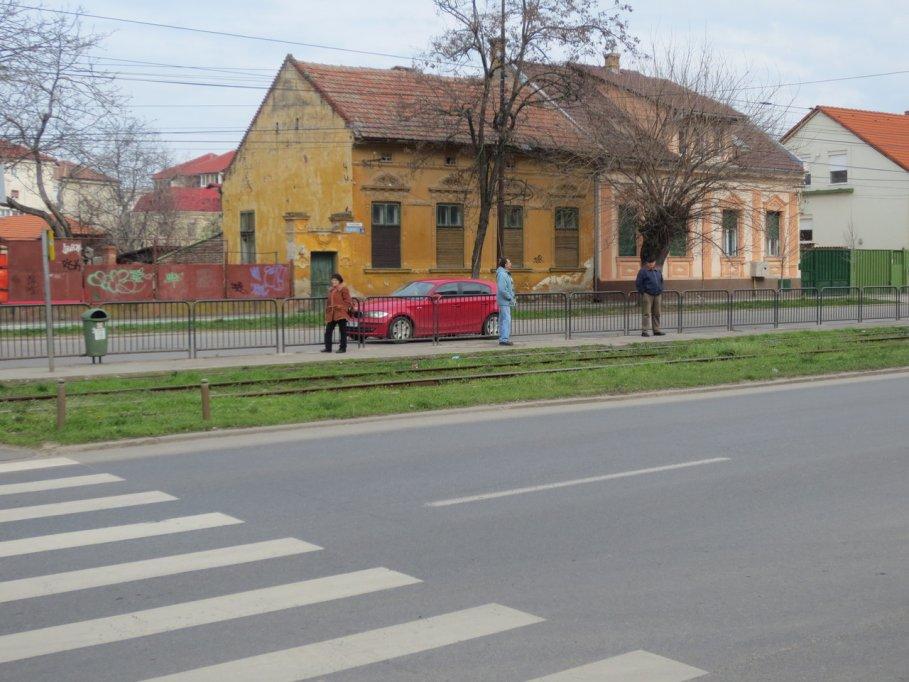 Statie RATT - Bulevardul Cetatii colt cu str. Martir Cernaianu