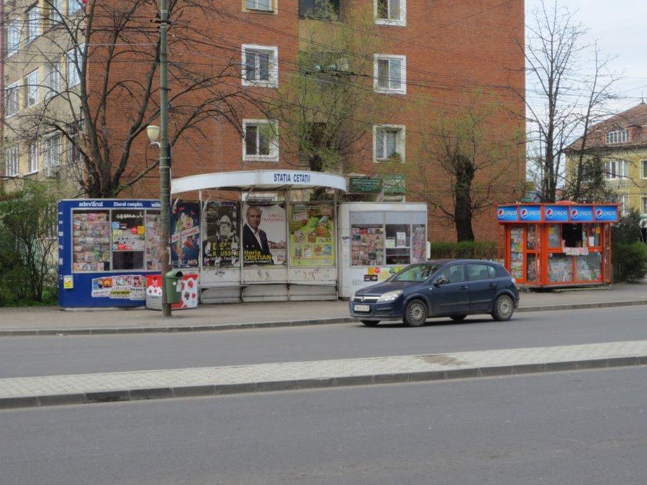 Statie RATT - str. Gheorghe Lazar colt cu Bulevardul Cetatii