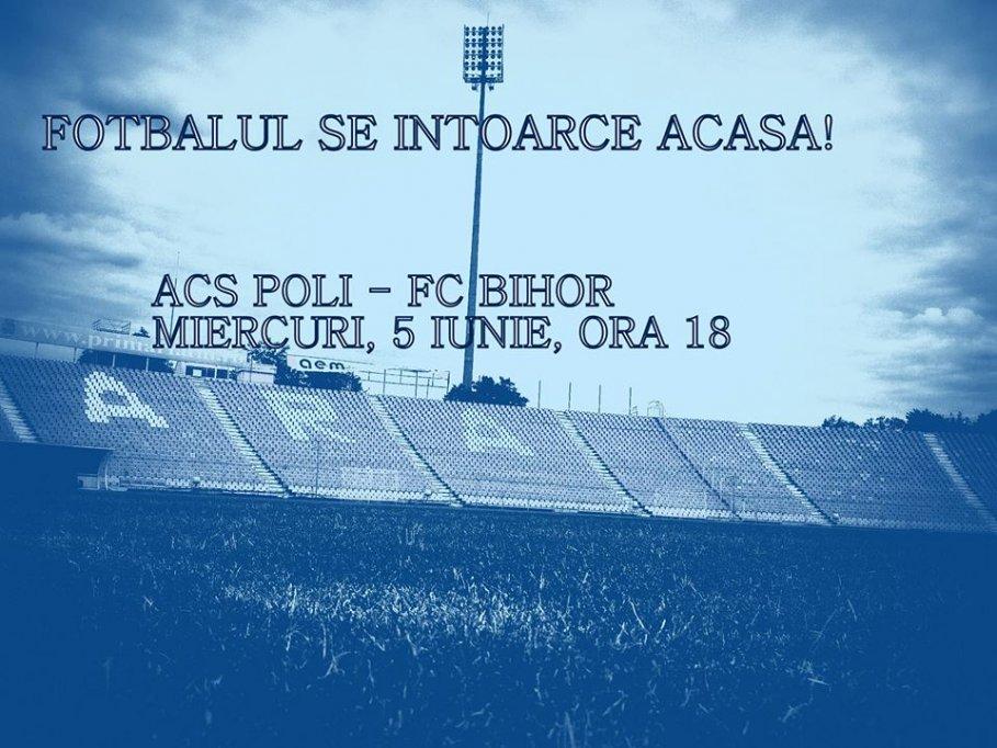 ACS Poli - FC Bihor
