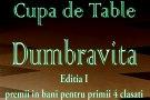 Cupa de Table Dumbravita