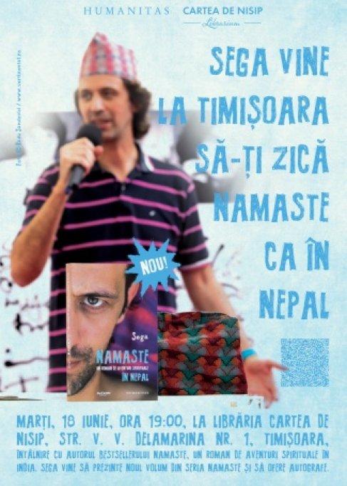 Lansarea cartii Namaste