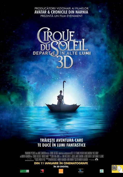 Cirque du Soleil: Departe, in alte lumi - 3D Dublat  - AG