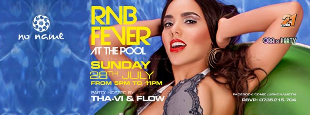 R'N'B fever at the pool!