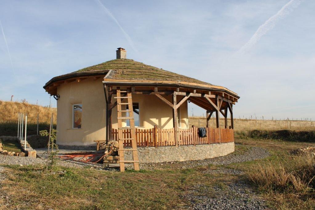 Proiect casa rotunda de pamant
