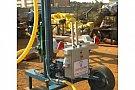 Vanzare instalatie de foraj usoara cu motor electric 380V