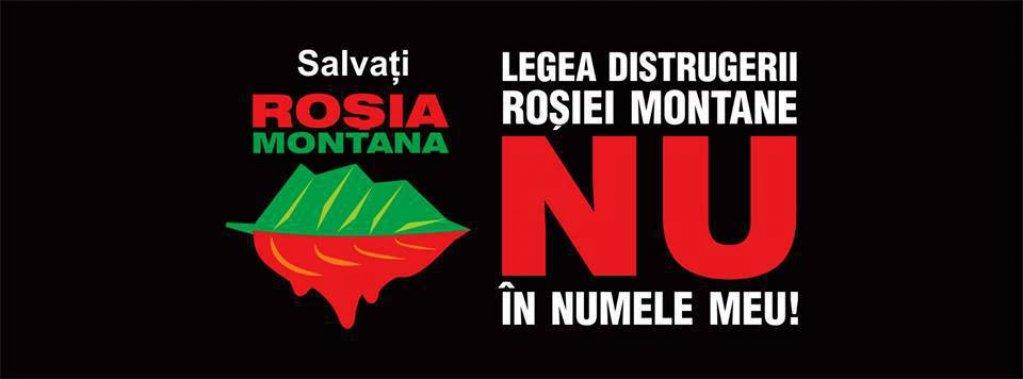 Protest Rosia Montana in Timisoara