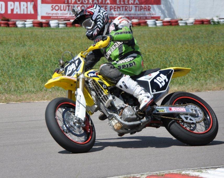 Vlad Neaga la Moto Challenge Cup Bacau 2013