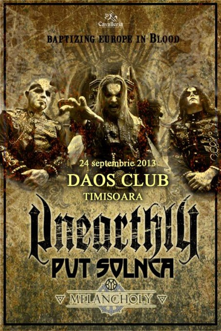 Unearthly, Put' Solnca si Melancholy @ Daos Club