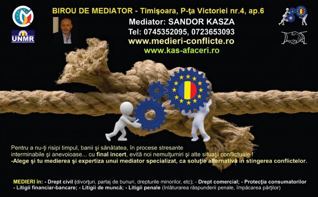 Kasza Sandor - mediator