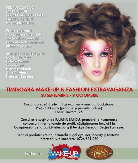 Make-Up and Fashion Extravaganza by Marius Lupu