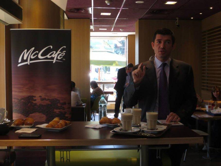 Primul McCafe din Timisoara este inaugurat la McDonald's Stadion