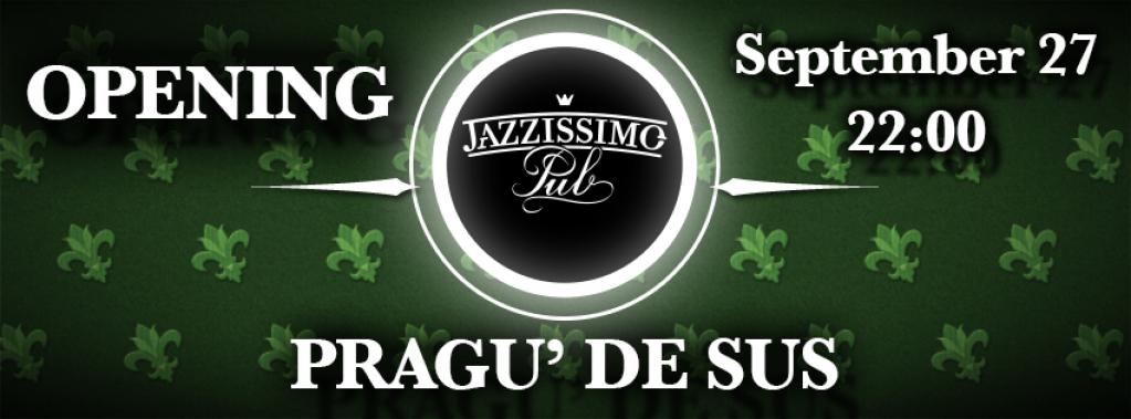 PRAGU' DE SUS deschide sezonul cantarilor la Jazzissimo
