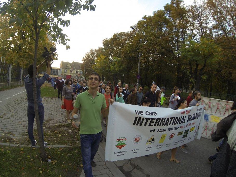 Proteste la Timisoara - 13.10.2013