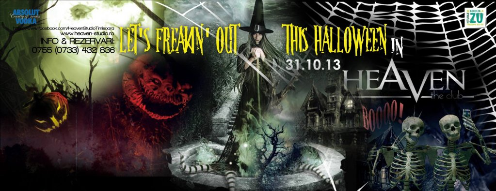 Freaking out this Halloween