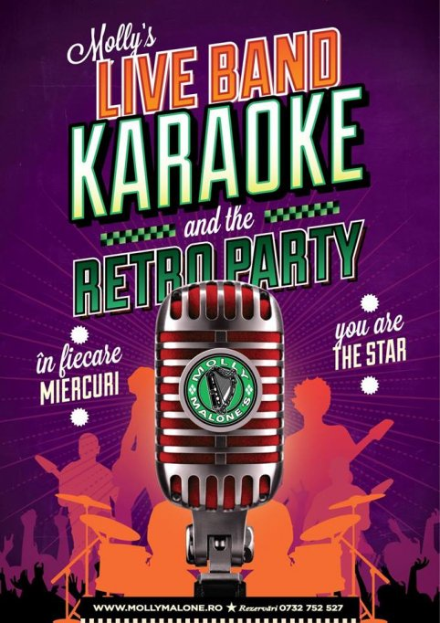 Molly's Live Band Karaoke + Retro Party