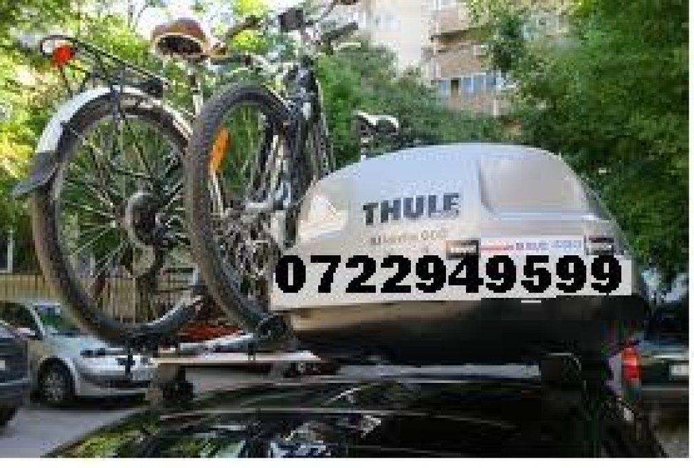 Inchiriez cutii portbagaje si suport biciclete