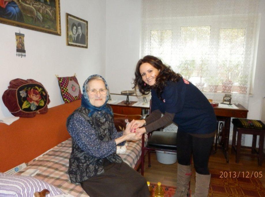 Donatii pentru varstnici de la Serviciul de Ajutor Maltez