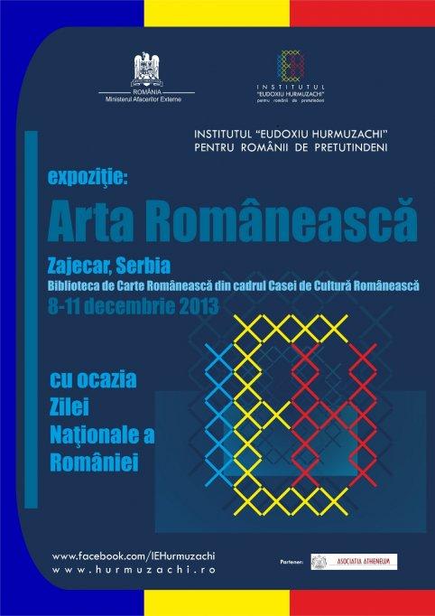 Arta si educatie romaneasca pentru copiii din Serbia