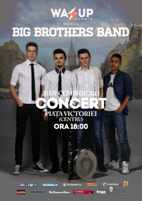 Concert Big Brothers Band in Piata Operei